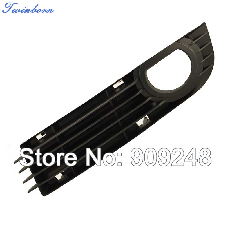 Left Side Bumper Grill For 2006 2007 2008 Audi A8 D3 Front Lower Grille Plastic Fog Cover(China (Mainland))