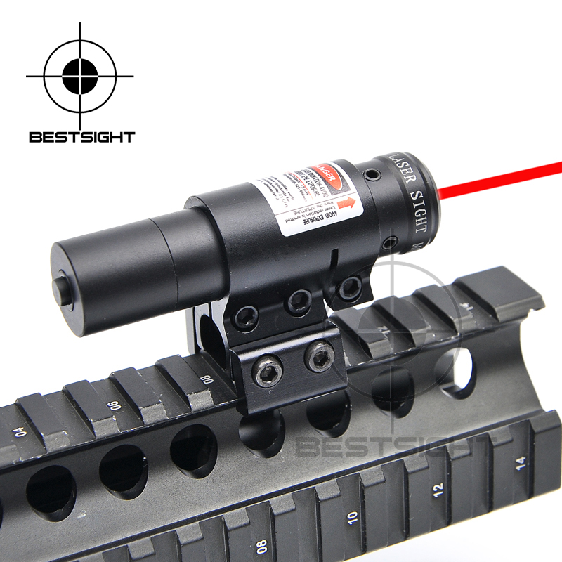 Tactical Night Hunting Laser Flashlight Red Dot Airsoft Compact Adjustable Red/Green Dot Laser Sight Airsoft Sniper Rifle(China (Mainland))