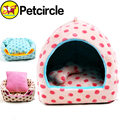 petcircle hot sale pet bed dog house cute dot dog kennel cagesg soft do house for