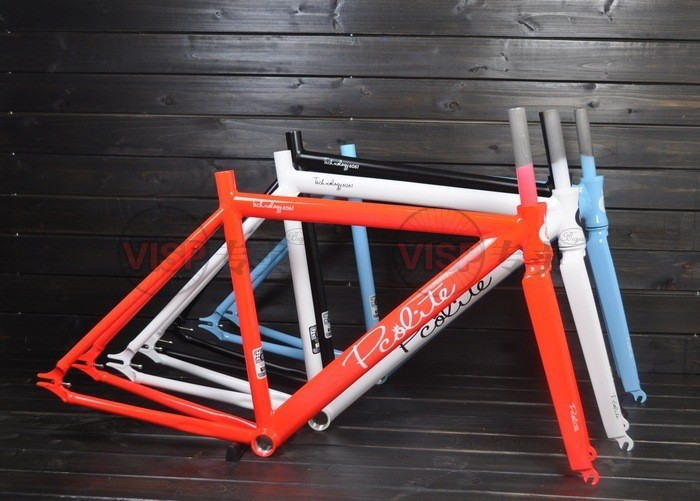 fixie Bicycle Fixed gear PCO frame and fork fixie bike frameset fixie bike track bike frameset(China (Mainland))