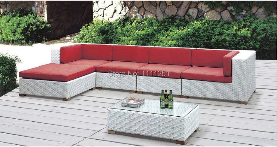2014new wicker rattan outdoor furniture lounge sofa for Outdoor furniture fabric