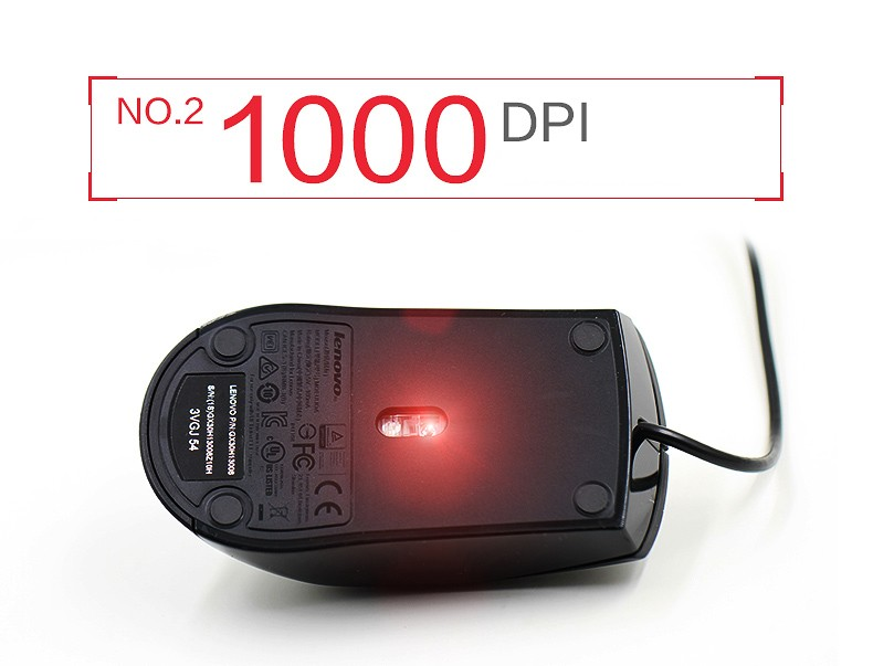 For lenovo mouse M120(M120) LED Optical USB Wired Computer Mouse Mice Cable Mouse PC mouse