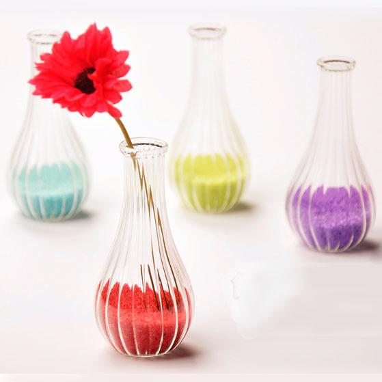 achetez en gros mini vase en verre en ligne des. Black Bedroom Furniture Sets. Home Design Ideas
