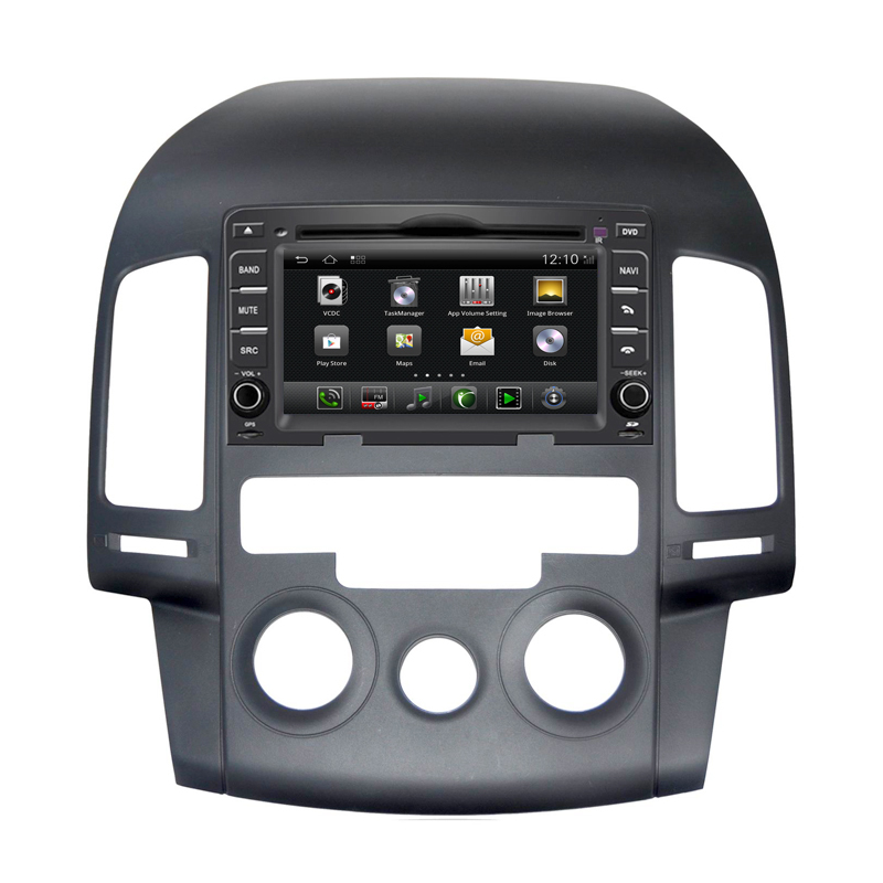 6 2 inch in dash android car audio stereo system with dvd player gps navigation for hyundai i30. Black Bedroom Furniture Sets. Home Design Ideas