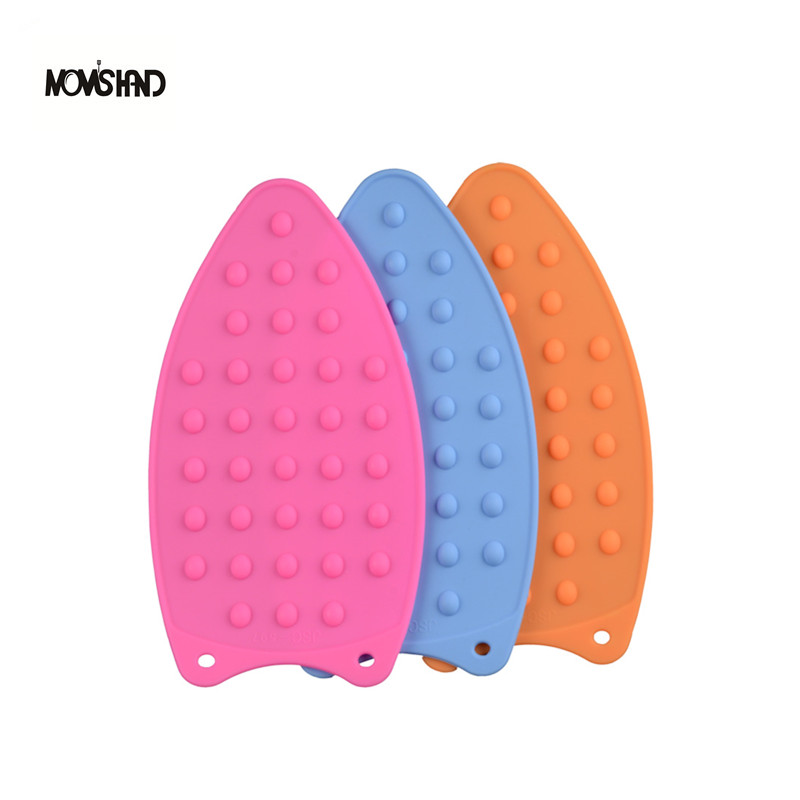 Heat Resistant Silicone Iron Stand Mat Rest Ironing Pad Helpers Anti Skid Board(China (Mainland))
