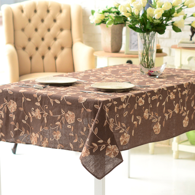 High quality table cloth table runner tablecloth dining table cloth table cloth exquisite handmade embroidered fluid coffee