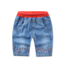 Retail 2016 New Children Pants cool jeans for boys spring  kids short jeans children for boys kids trousers baby children jeans