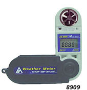 Taiwan Heng Xin AZ-8909 multifunction anemometer | Anemometer AZ8909 weather(China (Mainland))