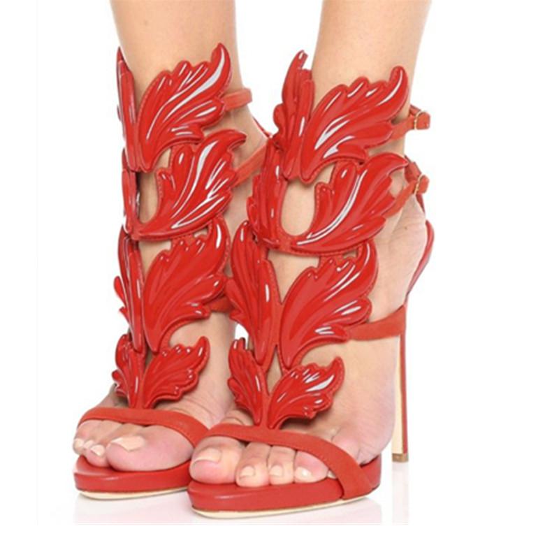 Nude Gladiator Ankle Heels Promotion-Shop for Promotional Nude