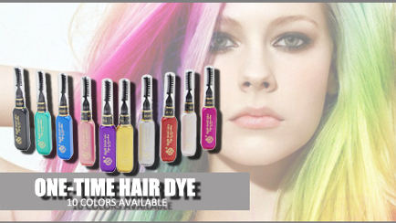 1PC hair dye Colors Temporary cream Vibrant Glitter Instant Highlights Streaks Hair Color Mascara Party Queen CH005 Fashion