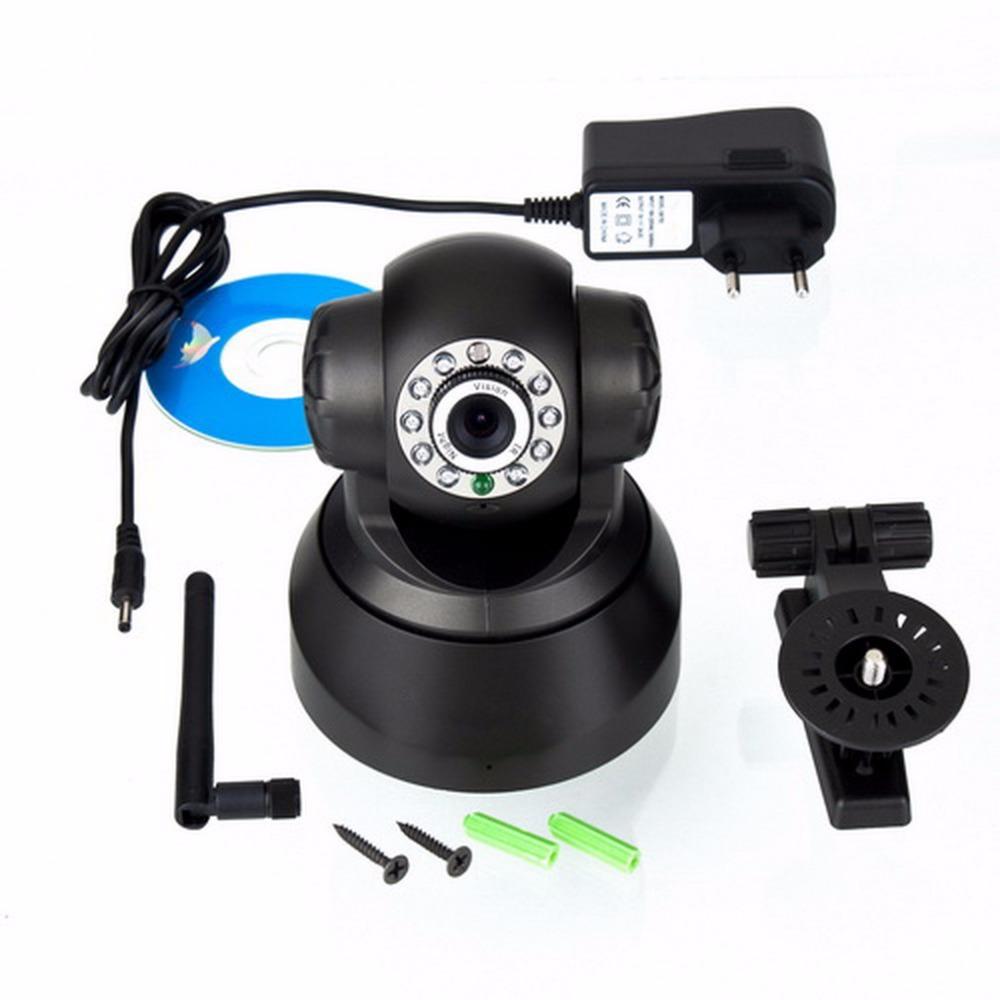 Гаджет  High quality!!11LED Night Vision IR Webcam Web CCTV Camera Wireless IP Camera WiFi  Pan Tilt Security new arrival None Безопасность и защита