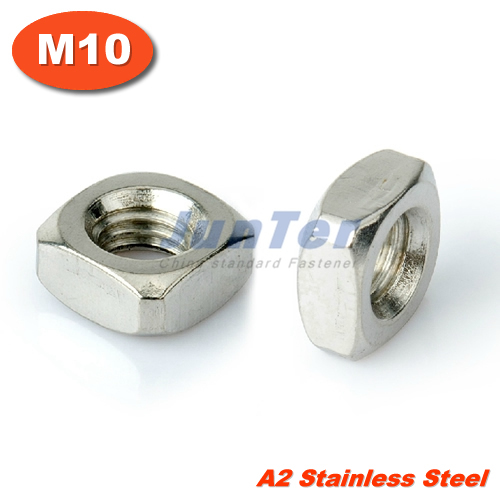 100PCS DIN557 M10 Stainless Steel A2 Square Nuts METRIC<br><br>Aliexpress