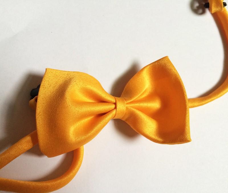 dog bows Yellow