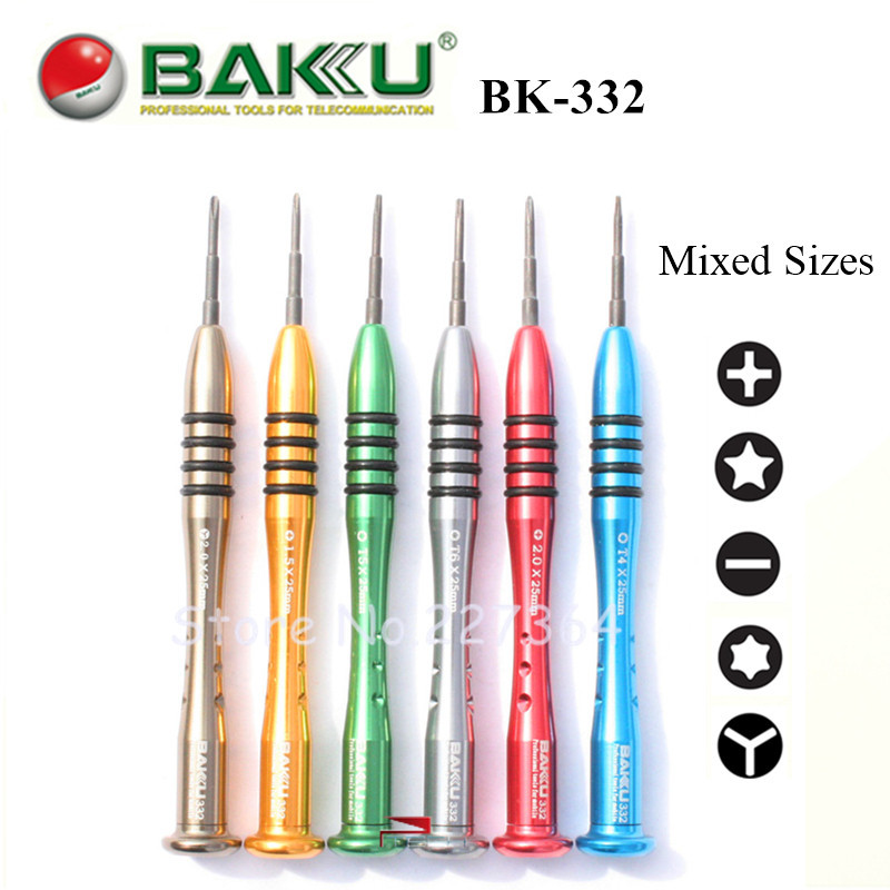 50 pcs/Lot BAKU Precision Screwdriver Set for iPhone iPad Samsung Nokia Tablet PC Computer Phone Repair Tools Kit Screw Driver(China (Mainland))