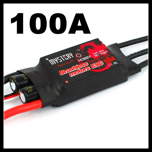 FreeShipping Mystery Fire Dragon 100A Brushless ESC RC Speed Controller<br><br>Aliexpress
