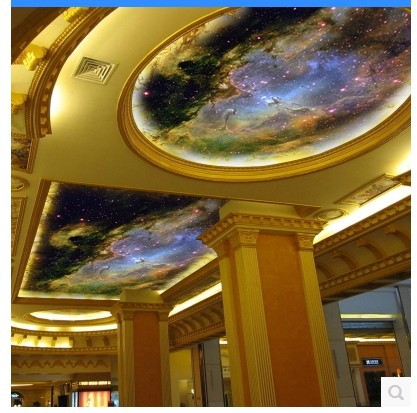 Wallpaper universe promotion online shopping for for Contemporary resort mural