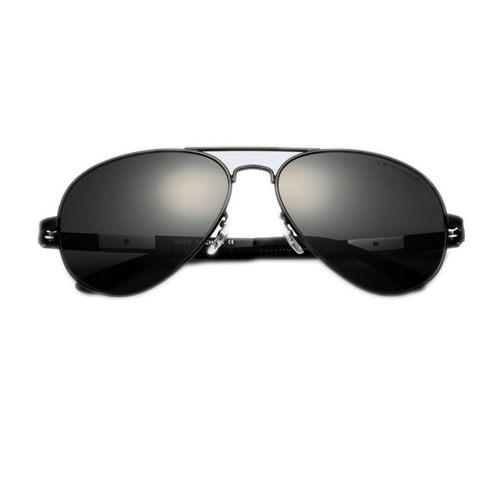 Fashion 4 Colors Aluminum-magnesium Glass Frames Polarizer Men's Fishing Car Drivers Mirror Sunglasses(China (Mainland))