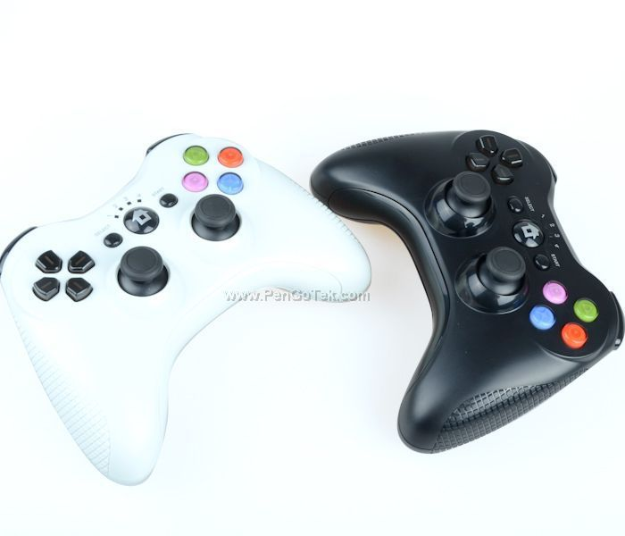 Free shipping Zm390 Wireless Dual Bluetooth Gamepad Joystick joypad Controller V3.0 for PS3/PS3 Slim/PS3 CECH 400 - White(China (Mainland))