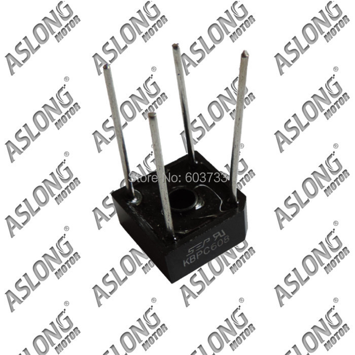 promotional Aslong 5a rectifier bridge/ac to dc rectifier free shipping(China (Mainland))