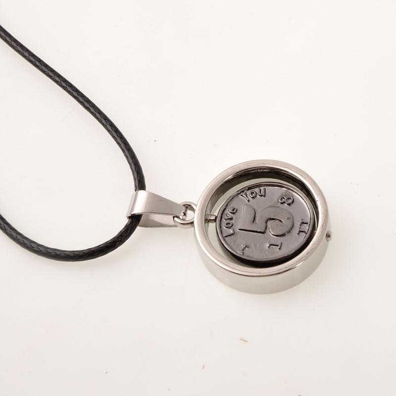 Coin pendants couple models(China (Mainland))