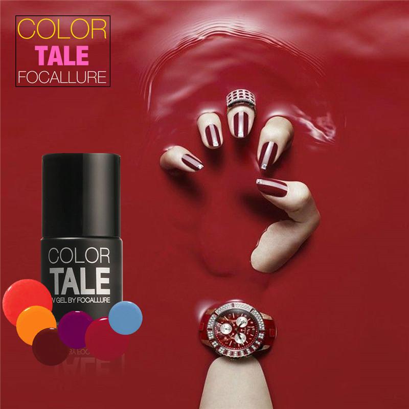 12 Colors 12ML Win Red Series 12 Colors Pick 1 UV Gel Nail Varnish Nail Gel Polish Gel LED UV Nail Art Manicure by Focallure(China (Mainland))