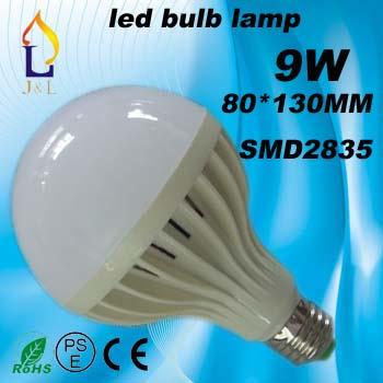 100pcs Led Lamp E27 220V 9w SMD 2835 Led Bulb cold warm White Energy Saving Led Lamp(China (Mainland))