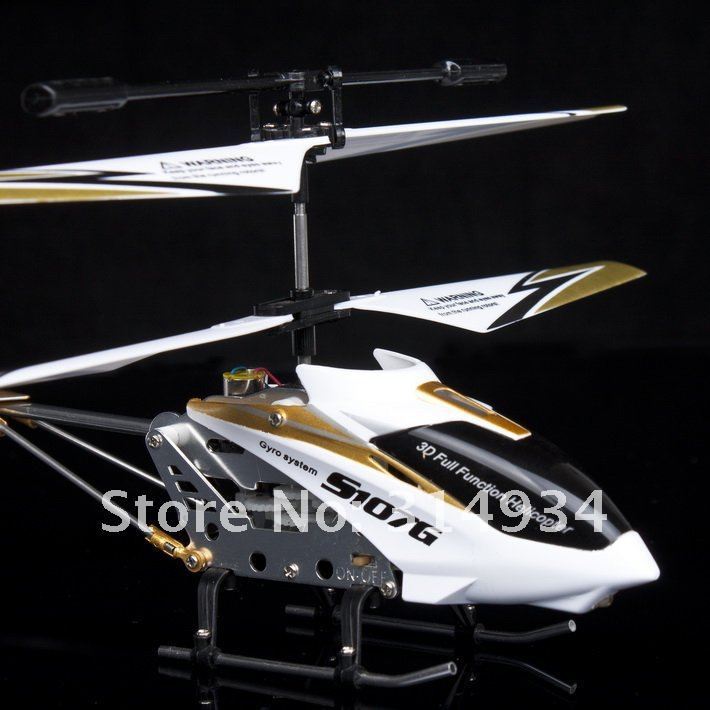 24pcs/lot syma s107g 3.5CH with gyro white rc helicopter wholesale fast shipping(China (Mainland))