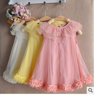 4pcs/lot 2014 new arrival fashion summer girl flower lace chevron tutu dress baby girls cute princess dresses 3 colors in stock<br><br>Aliexpress