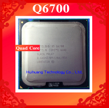Lifetime warranty Core 2 Quad Q6700 2.66GHz 8M Four nuclear threads desktop processors CPU Socket LGA 775 pin Computer