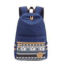 Buy Fashion Canvas Women Bag Backpack School bag Teenagers Ladies Girl Back Pack Schoolbag Bagpack Mochila for $19.53 in AliExpress store