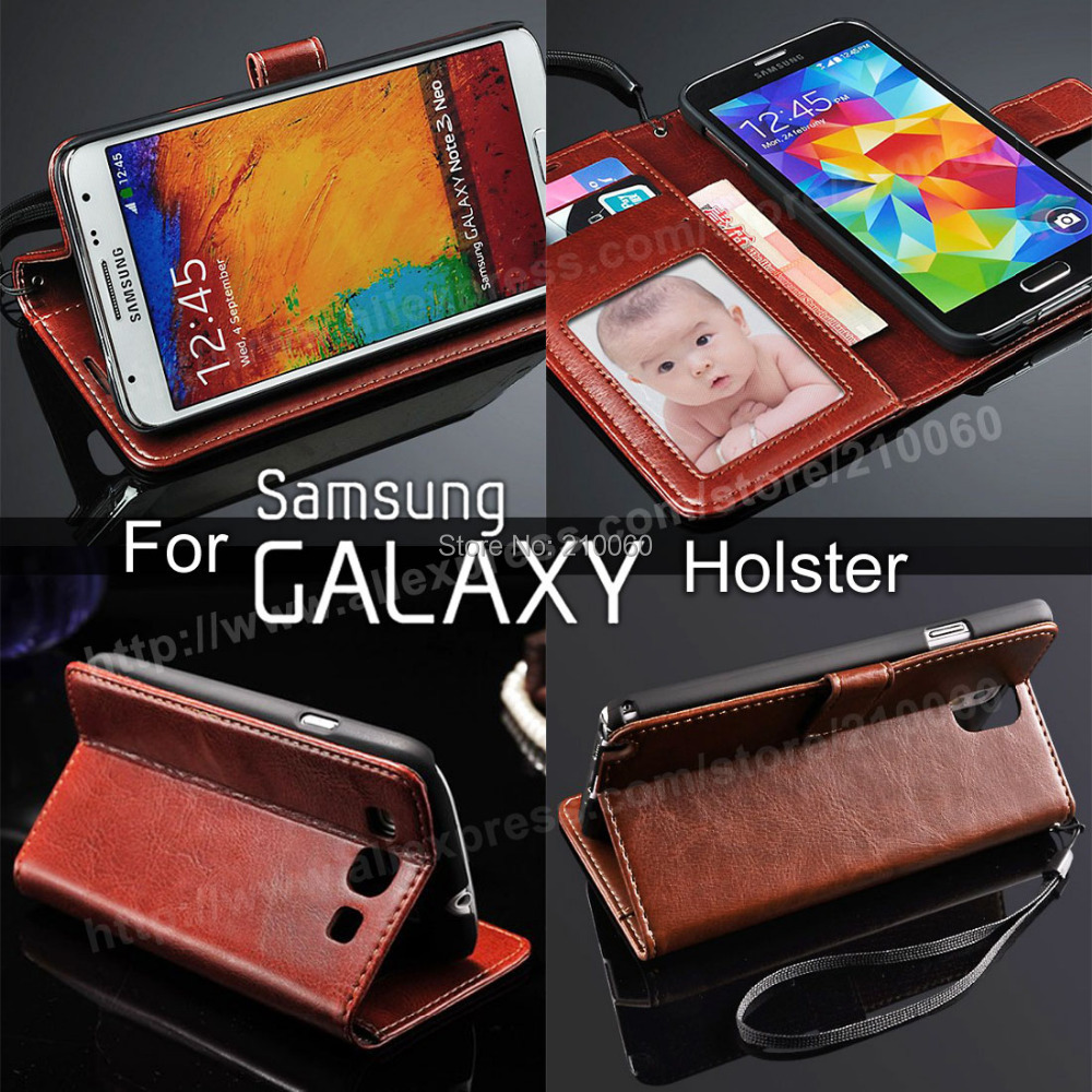 phone cases Folio Wallet Credit Card Slots Photo Frame PU Leather Case Samsung Galaxy SIIII S3 i9300 - UFavors store