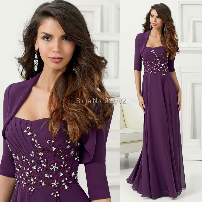 Long Evening Dresses With Jackets - Best Jacket 2017