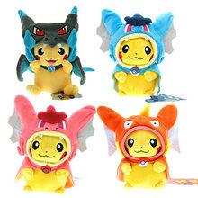 5style Pokemon Plush toys Pikachu Cosplay Mega Charizard gyrados Stuffed Animal Dolls Children Toys Movie Tv kids Christmas Gift(China (Mainland))