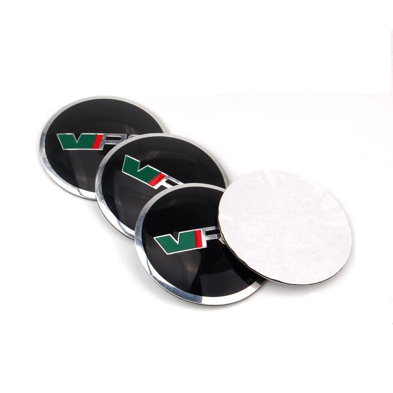 4Pcs x 56mm VRS Logo Car Auto Wheel Center Hub Caps Badge Emblem Sticker Fit for Superb Fabia Octavia(China (Mainland))