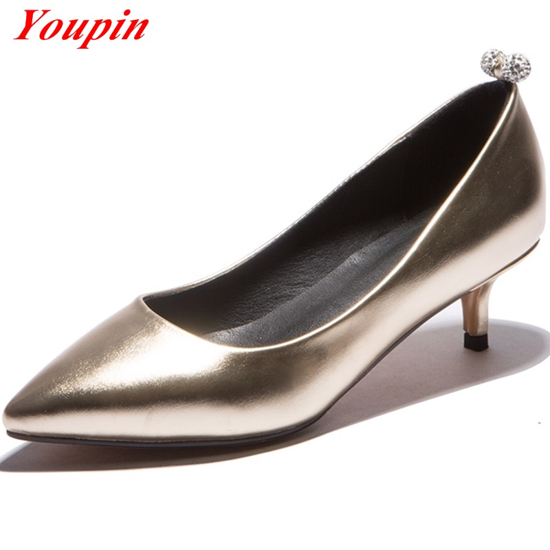 Nightclub girl Hot New Products Low-heeled fashion shoes 2016 Rhinestone Tendon at the end skid Big Size 32-43 Sexy Comfortable<br><br>Aliexpress