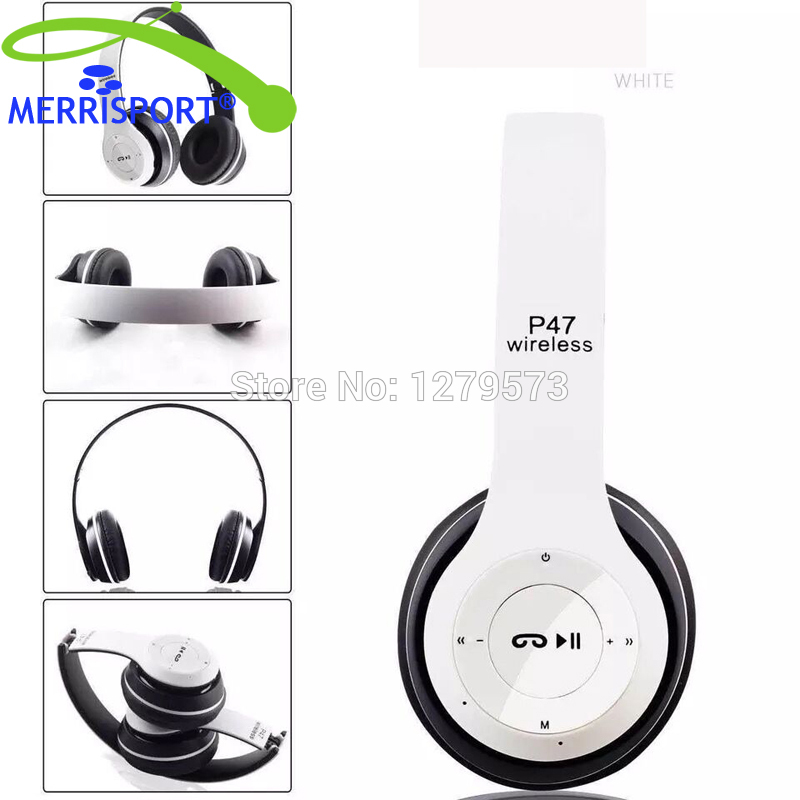 MERRISPORT Foldable Bluetooth Wireless Headphones Noise Canceling Over ear Headsets with Mic for TV Iphone Samsung PC Smartphone(China (Mainland))