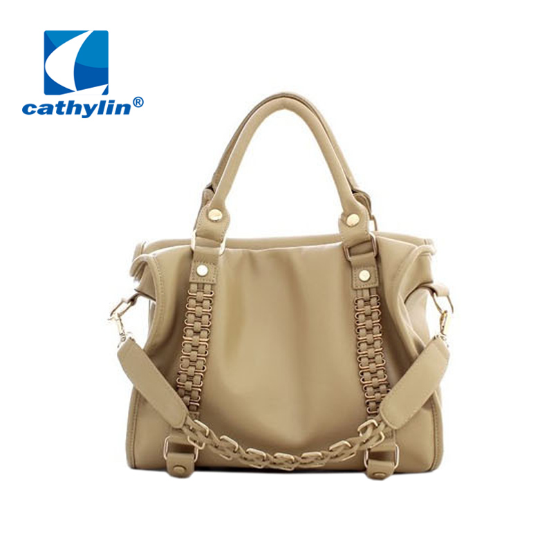 Cathylin Hot Selling italian leather handbags designer inspired handbags Women Messenger Bag Ladies Casual Tote Sac A Main(China (Mainland))