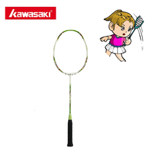 Buy Kawasaki KIDS 650 GREEN Kids Badminton Rackets Kids Children 5U Junior Badminton Racket Kids Green 8~13 Year-old Child for $26.99 in AliExpress store