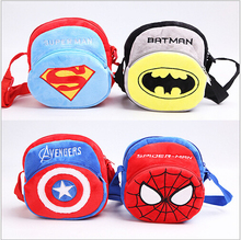 Free shipping kindergarten Corduroy bag Spider-Man Bangalor Baby Cartoon movie Bangalor outdoor Travel bag of childrens/ gifts(China (Mainland))