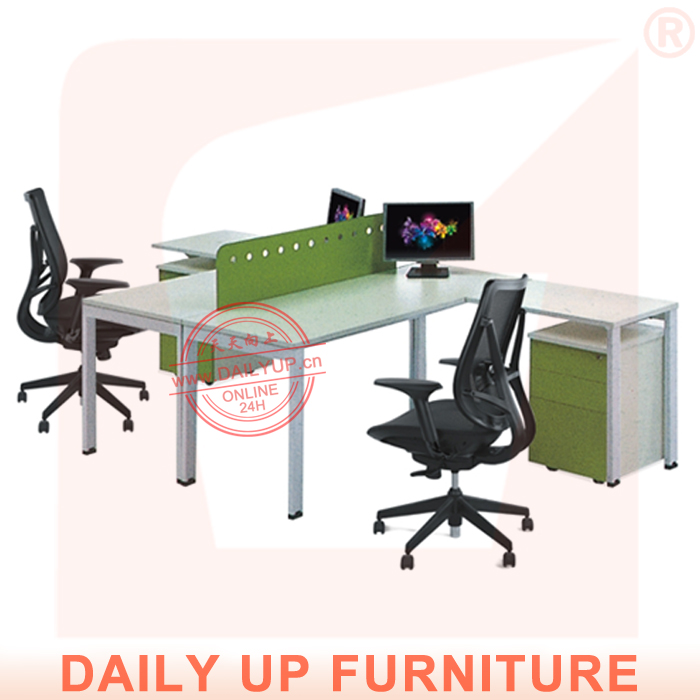 Office Table Designs In Wood with 2 Partitions Modern Executive Desk with 2 Divisions T Shaped Office Desk(China (Mainland))