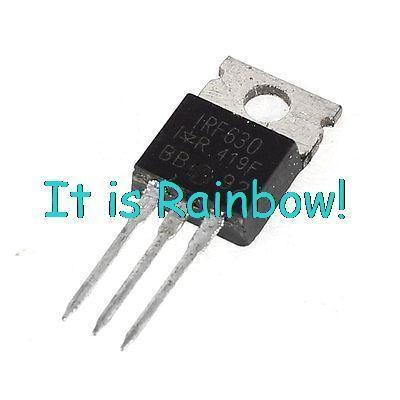 IRF630 High Voltage Current 200V 9.5Amp TO-3P NPN Power Transistor(China (Mainland))
