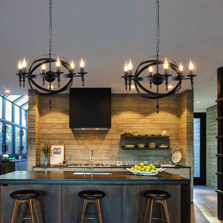 Lampade a sospensione per cucina amazing moderna lampada a sospensione per cucina in vetro - Lampade a led per cucina ...