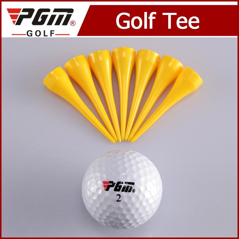 Big head ball Golf plastic TeesYellow step golf tee ball golf clubs accessories pin marker hat clip Wholesale(China (Mainland))