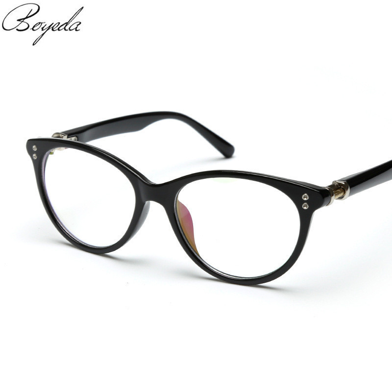 Female Grade Glasses Frame 2016 Cat Eye Glasses Vintage Optical Glasses Men Women Myopia Eyeglasses Frame Prescription Eyewear(China (Mainland))
