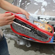 Multifunctional Car Duster Cleaning Dirt Dust Clean Brush Dusting Tool Auto Wash Mop Gray Brush Car Accessories(China (Mainland))