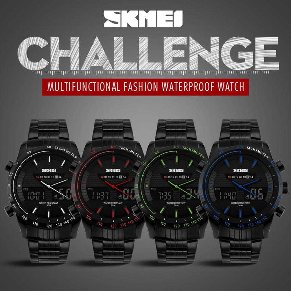 Цифровые Часы На Открытом Воздухе Наручные Часы многофункциональный часы Бизнес мужские Часы Спорт Большой Циферблат Водонепроницаемый