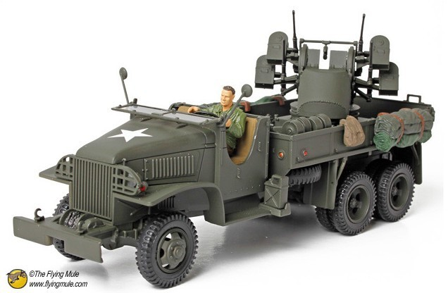 free shipping ! FOV 80060 1:32 WWII U.S. Army M35 artillery trucked quadruple  Alloy Military Model