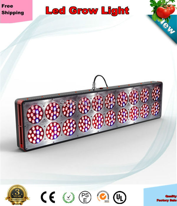 Best 900W Apollo 20 Led Grow Light 4ft High Power Hydroponic Plant Growth Lighing Veg and Bloom(China (Mainland))