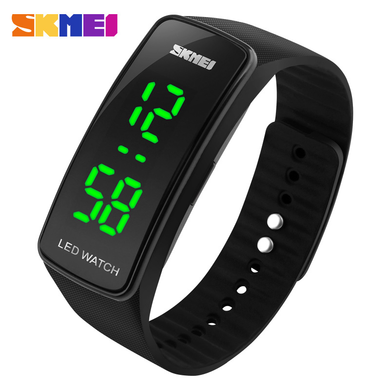 2016 New Fashion Square Dial LED Bracelet Digital Watches For Men&Ladies&Child Clock Womens Wrist Watch Sports Wristwatch Saat(China (Mainland))