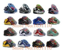 Hot sale 2015 men High quality Lebrones 12 XII basketball shoes sneakers athletic shoes Pre-Sale Free shipping size 7-12(China (Mainland))